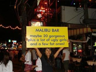 Honest Bar Advertisement
