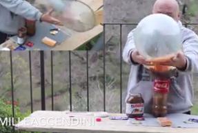 Condoms + Mentos + Coke = ?