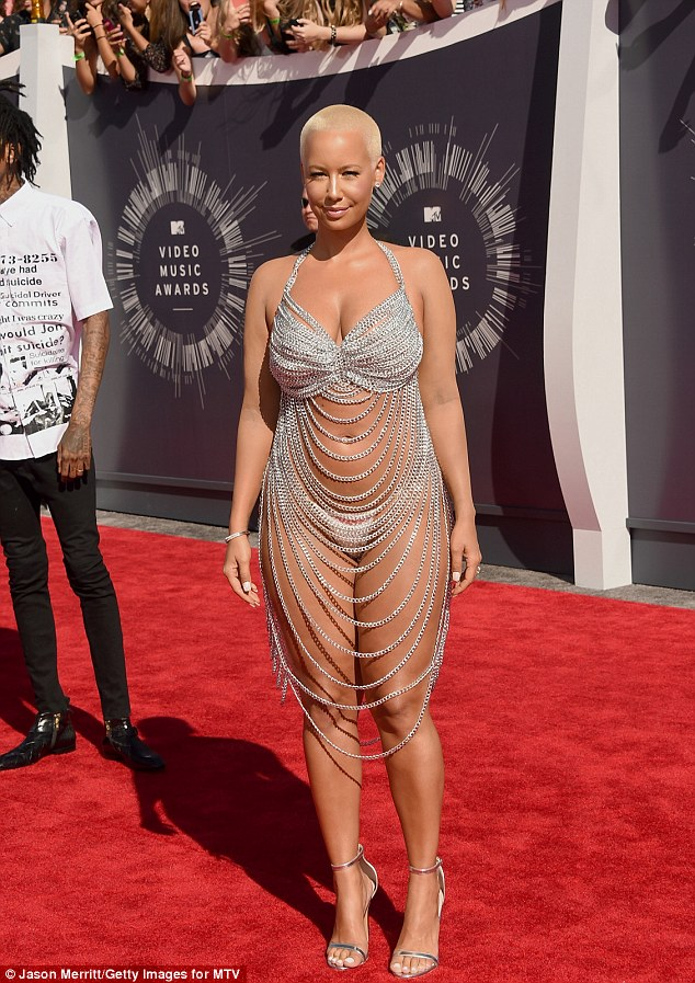 Happy Monday From Amber Rose at the VMAs