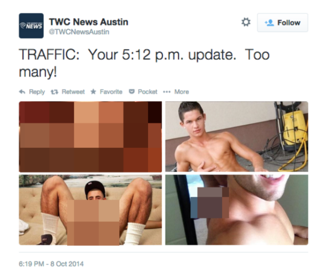 News Station Accidentally Tweets Gay Porn