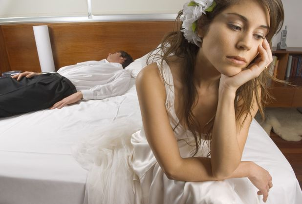 Nobody's Having Sex on Their Wedding Night