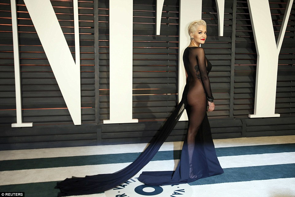 Rita Ora's Booty Won the Oscars