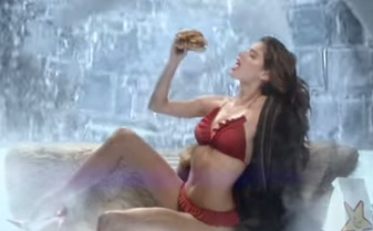 TGIBooty: Sara Sampaio's New Carl's Jr. Commercial