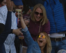 Cubs Fan Catches Foul Ball In Beer, Chugs It