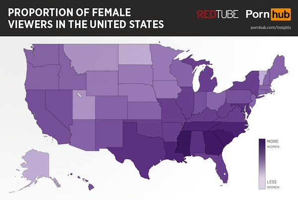 Which States Have the Horniest Women?