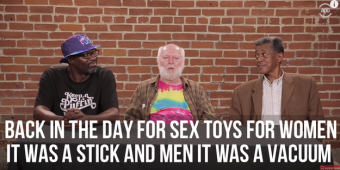 Old People Open Sex Toys For the First Time
