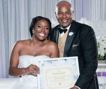 Bride Presents Father With Certificate of Virginity
