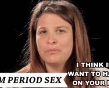 Thirsty Thursday: How do YOU Feel About Period Sex