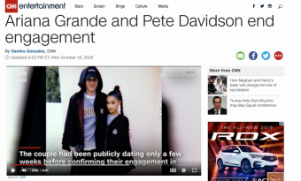 Surprise Surprise, Ariana Grande and Pete Davidson Are Done