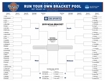 Print Your March Madness Bracket